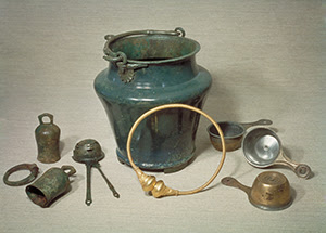 Ancient Roman imported drinking-set