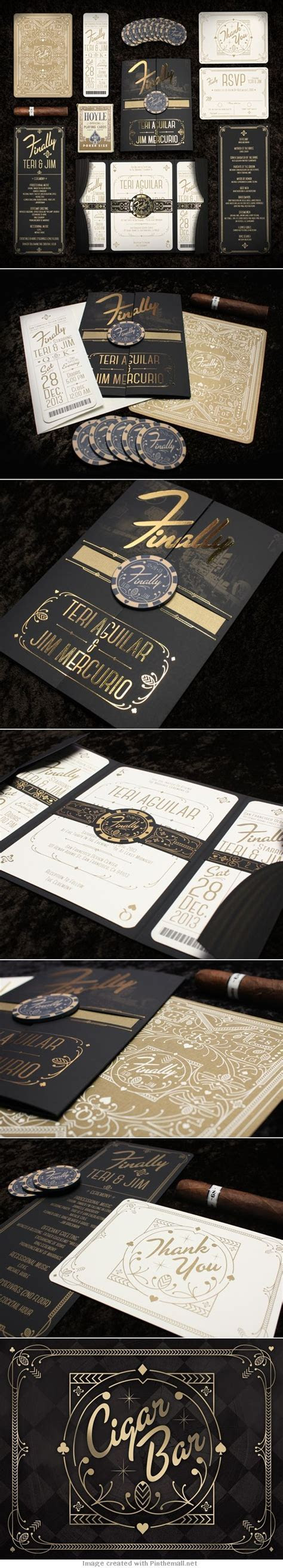 Mercurio Wedding Invitations inspiration from the