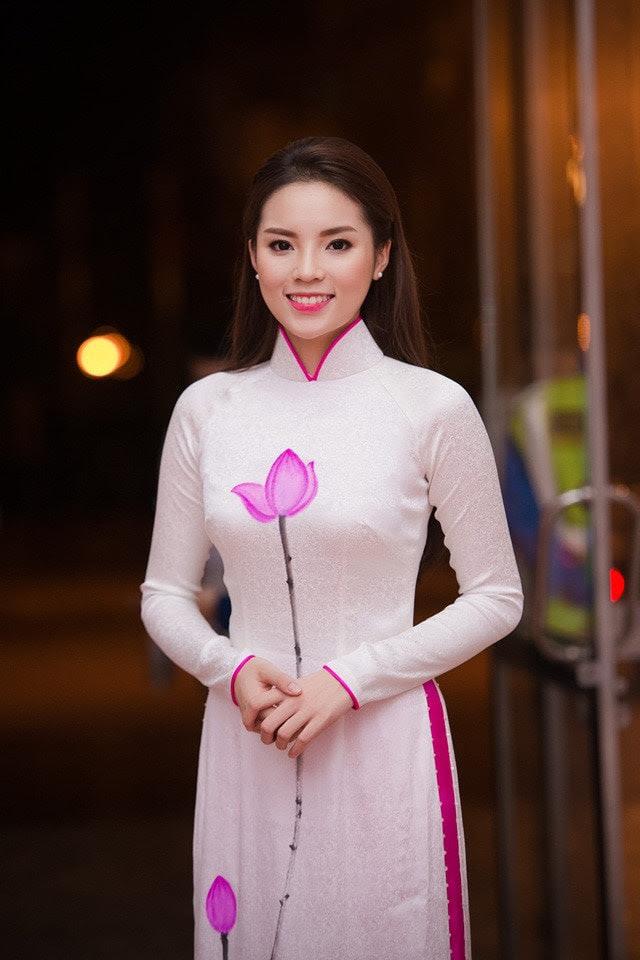 áo dài đồng phục giáo viên