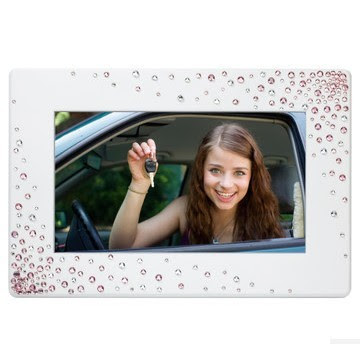 Gift Giinii Bling Hd Shanzuan 7 Inches Digital Photo Frame Digital