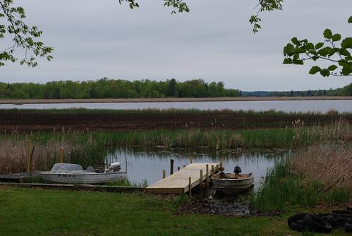 The new dock awaits.