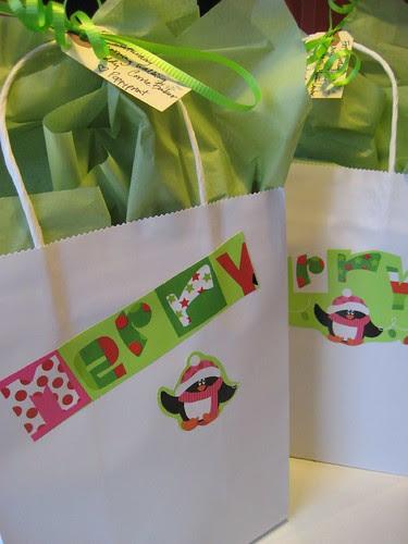 Walking Buddy gift bags