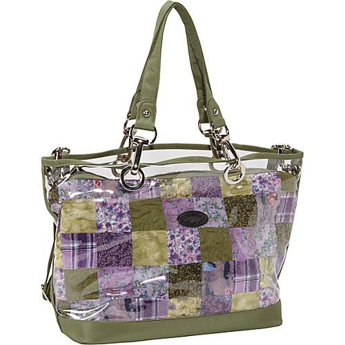 Donna Sharp Zoe Bag Grape Patch - Donna Sharp Fabric Handbags