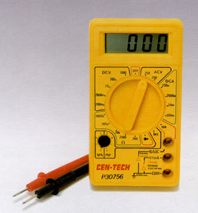 Cen-Tech P30756 Digital Multimeter