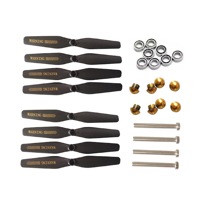 VISUO XS812 GPS RC Drone 2set blades propellers + shaft + bearings RC Quadcopter Spare Parts
