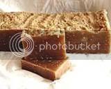 soap,cold process,oatmeal,goat's milk,milk,olive oil,cocnut oil,palm oil,soy,sunflower oil,shea butter