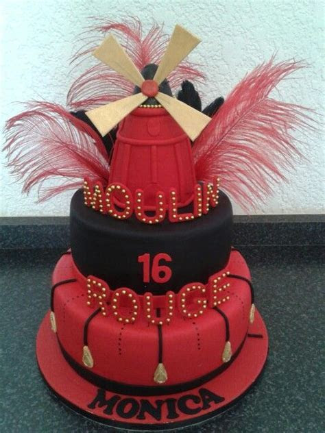 Moulin Rouge cake   c a k e S   Pinterest   Cakes, Moulin