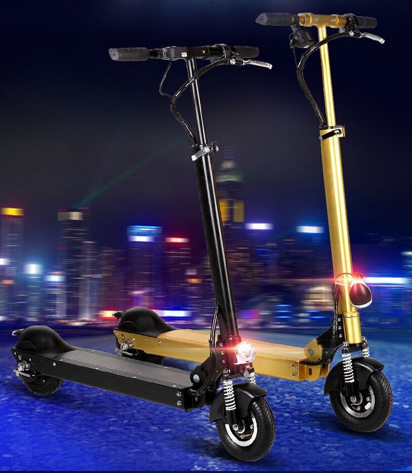 2 Wheel Folding Electric Scooters for Adults Mini Bike Electric Standing Scooter Motorized