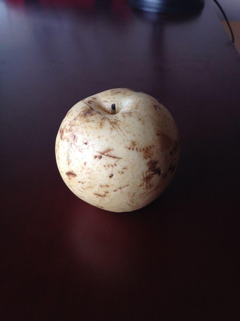 Not an apple. Pear. photo 2013-10-23072112_zps752d20db.jpg