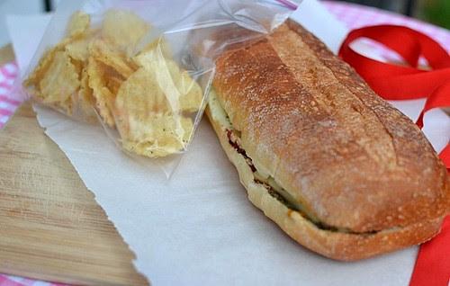 Roasted Veggie Sandwich1