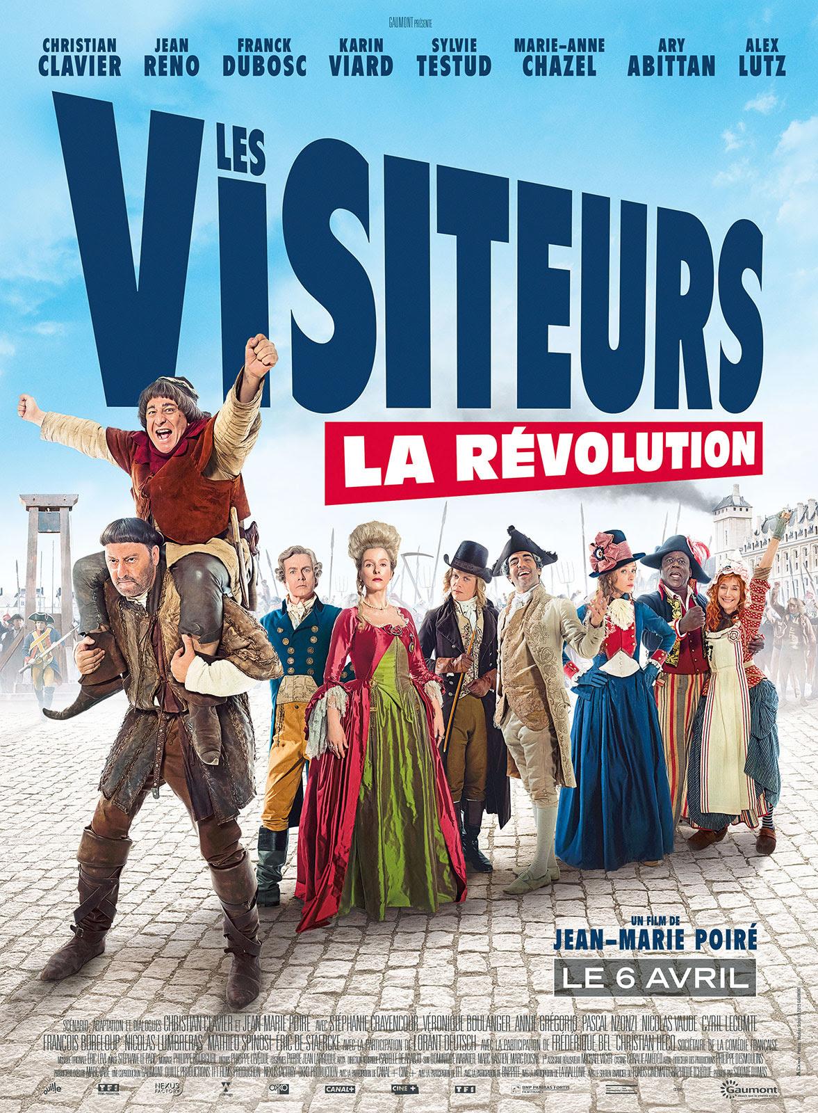 Resultado de imagem para les visiteurs la révolution