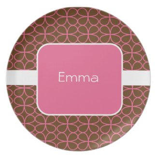Sweet Personalized Kids Plate plate