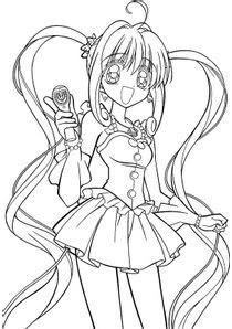Coloriages Pichi Pichi Pitch à Imprimer Coloriages Dessins Animes