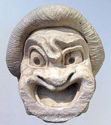 Afbeeldingsresultaat voor mask greek comedy