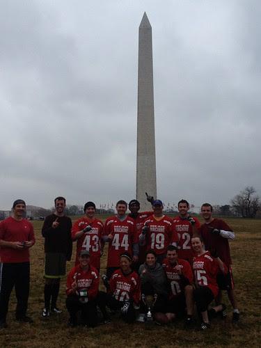 Flag football team
