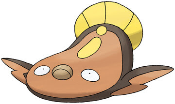 Stunfisk artwork by Ken Sugimori