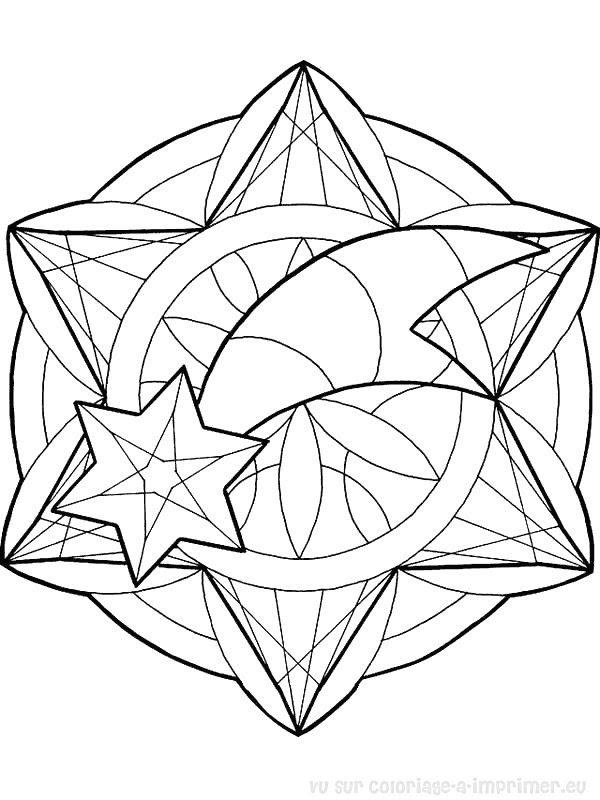 Coloriage à Imprimer Coloriage Mandala Noel 028