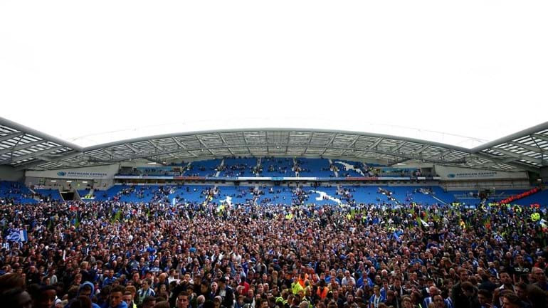 Brighton assegura subida à Premier League