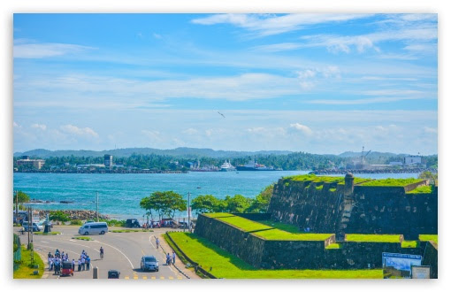 Galle Fort, Sri Lanka 4K HD Desktop Wallpaper for 4K Ultra ...
