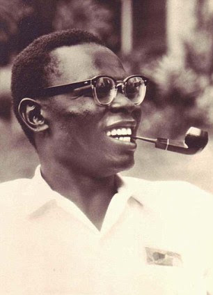 Barack Obama, Sr. in a snapshot from the 1960s