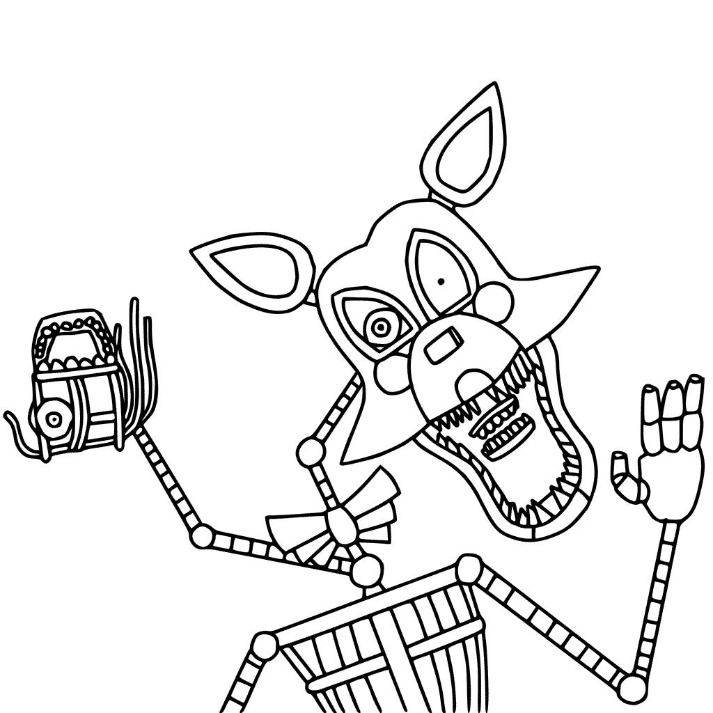Best Of Fnaf World Coloring Pages All Characters Anyoneforanyateam