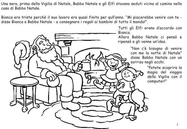 Album Da Colorare Con Babbo Natale