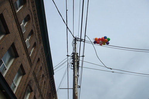 balloons in Parkdale