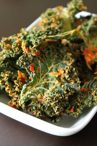 Pizza Kale Chips