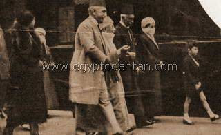 Pince Youssef Kamal and the Dowla Pasha