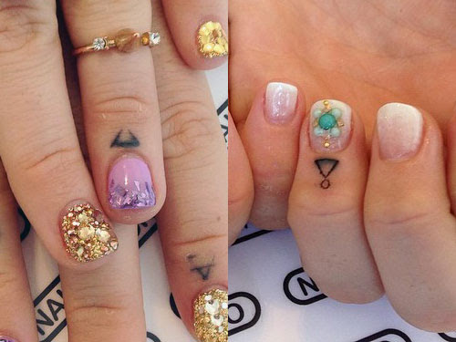 Jojo Levesque Triangle Knuckle Tattoo Steal Her Style