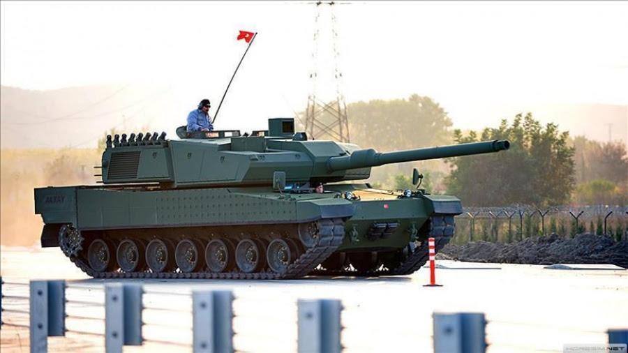Ξεκινά και η μαζική παραγωγή του πρώτου τουρκικού βαρέως άρματος μάχης