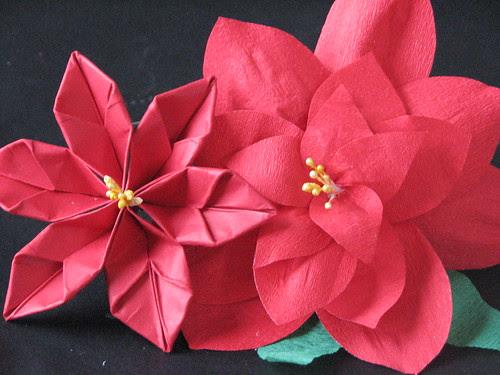#13 - Origami Poinsettia 015