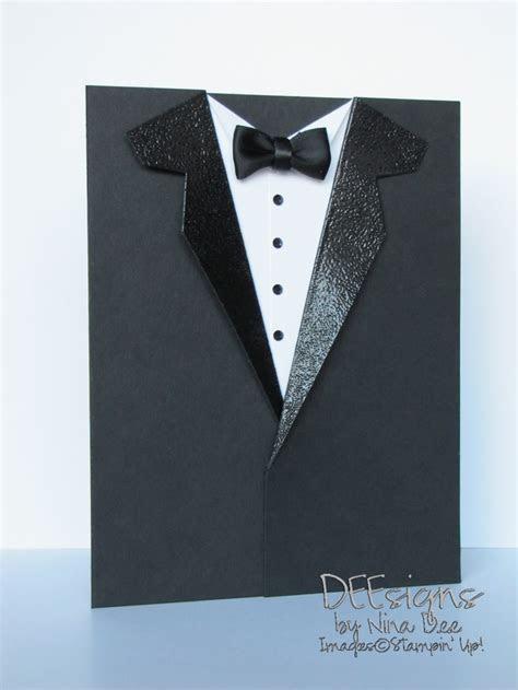 Tux card   Cards   Tuxedo card, Cards, Wedding cards