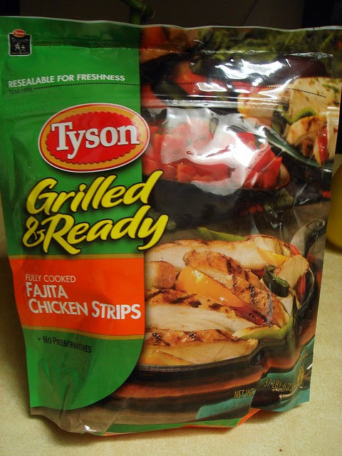 Tyson Grilled & Ready Fajita Pizza