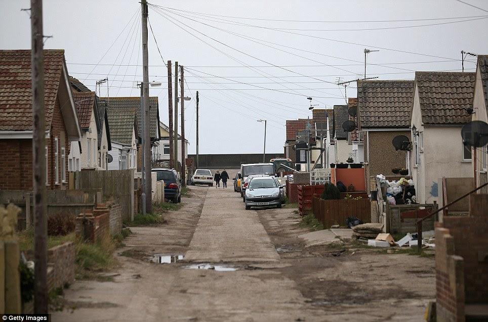 写真:貧困地区フランス
