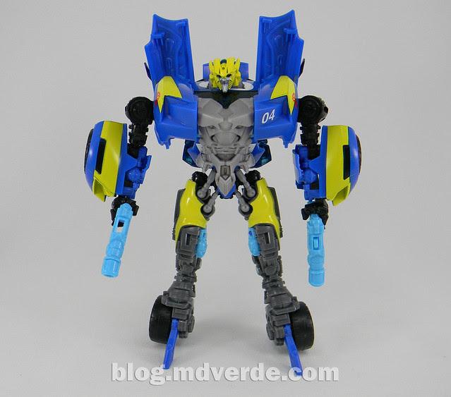 Transformers Sideswipe DotM Deluxe Walmart - modo robot
