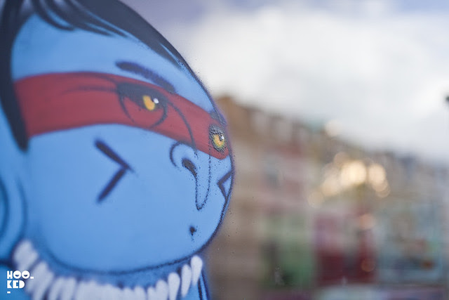 Street Artist Cranio's New London Street Mural