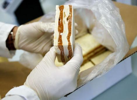 Análisis de una lasaña en un laboratorio de referencia suizo.   Afp