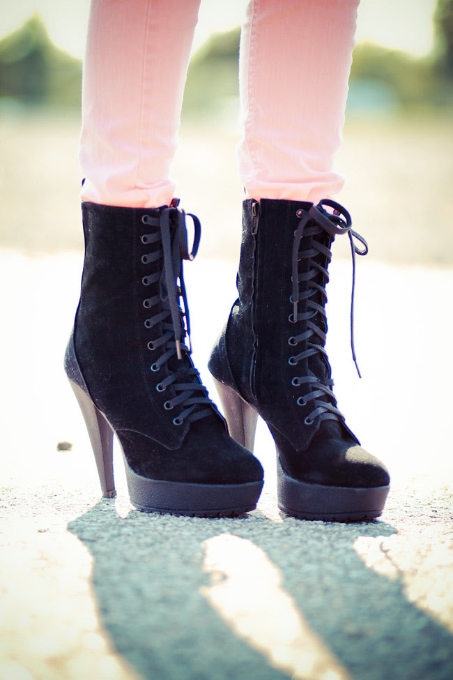 Suede Black Ankle Boots, Modekungen, Fashion Shoes