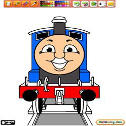 Giocare A Coloring Thomas And Friends 1