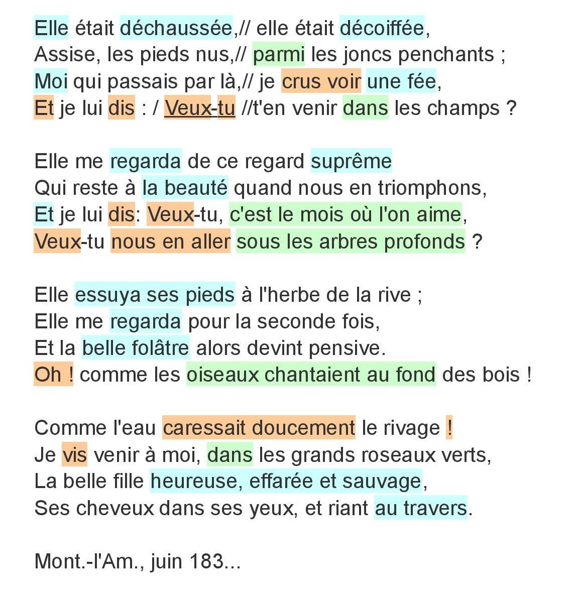 Exemple De Poème Lyrique Victor Hugo - Le Meilleur Exemple
