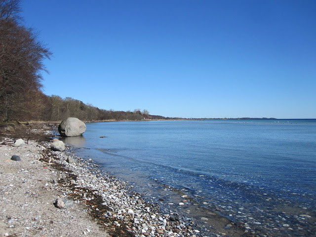 Mussestenen Vemmetofte Strand