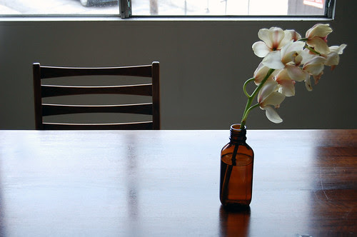 orchids, table