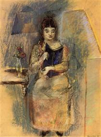 Woman Reading - Max Weber