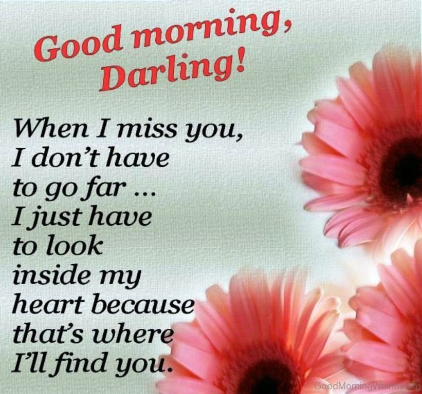25 Good Morning Darling Pictures