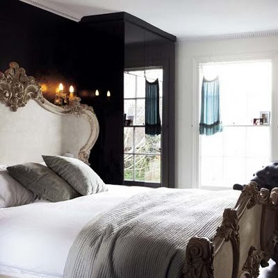 Glam-goth-bedroom