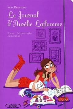 Couverture Le Journal d'Aurélie Laflamme, tome 1 : Extraterrestre... ou presque!