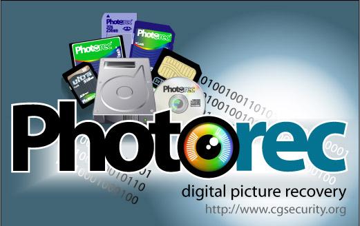 PHOTOREC récupérateur de photos