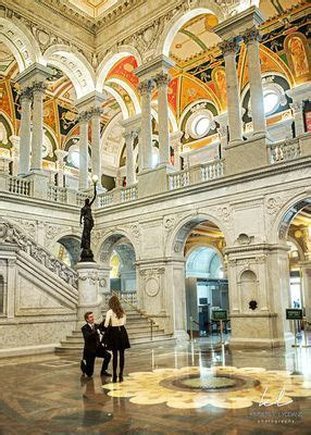 Proposal at the Library of Congress in Washington, DC