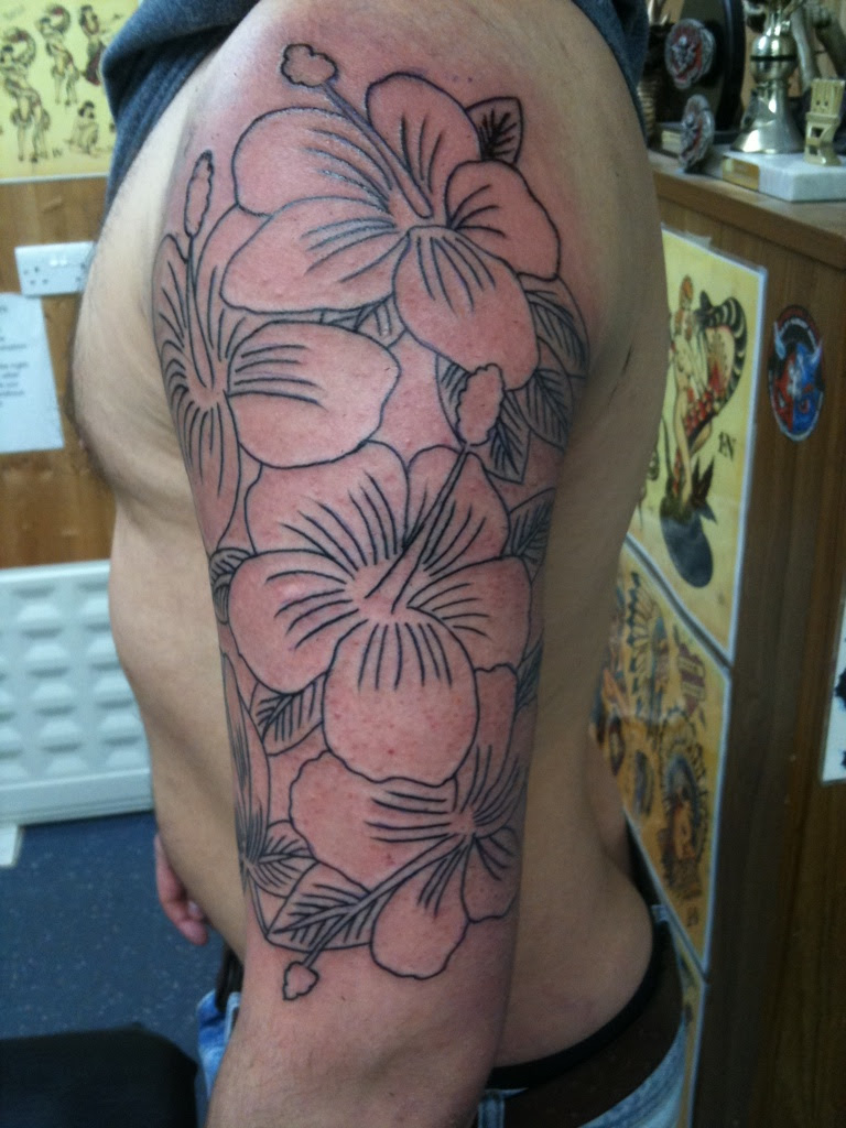 Flower Half Sleeve Tattoos Designs Tattoos Designs Ideas